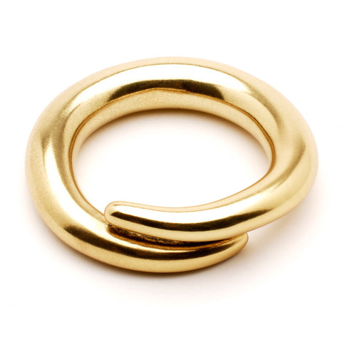 Classic Gold Spiral Bangle - Ben-Amun