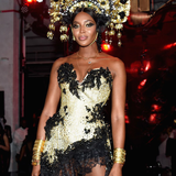 Classic Gold Imperial Eye Cuff | Ben-Amun | Supermodel Naomi Campbell | Halloween Party | Naked Heart Foundation | GettyImages