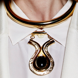 Gold Collar Necklace - Ben-Amun