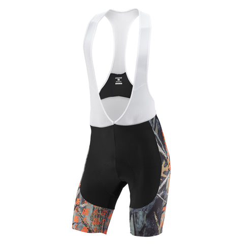 WOODLAND CAMO CYCLING BIB SHORTS