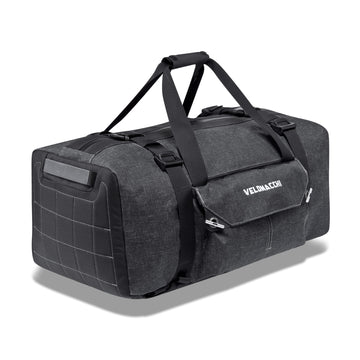 Waterproof travel duffle bag for commuting or adventure.