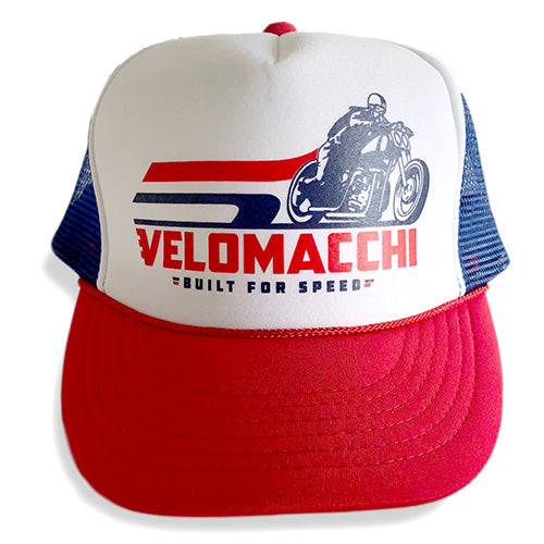 Velomacchi Built for Speed Snapback Hat