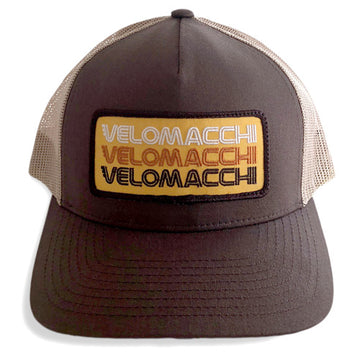 Velomacchi Stacked Patch Snapback Hat