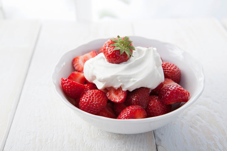 Berries and Whipped Coconut Cream