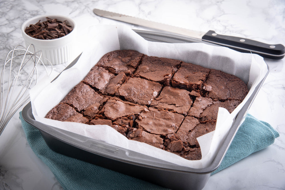 Brownies de chocolate ceto