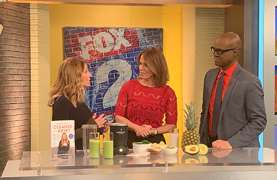 Cleansing During the Holidays with Fox 2 Detroit
