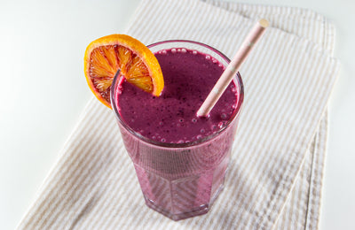 Orange Blueberry Shake