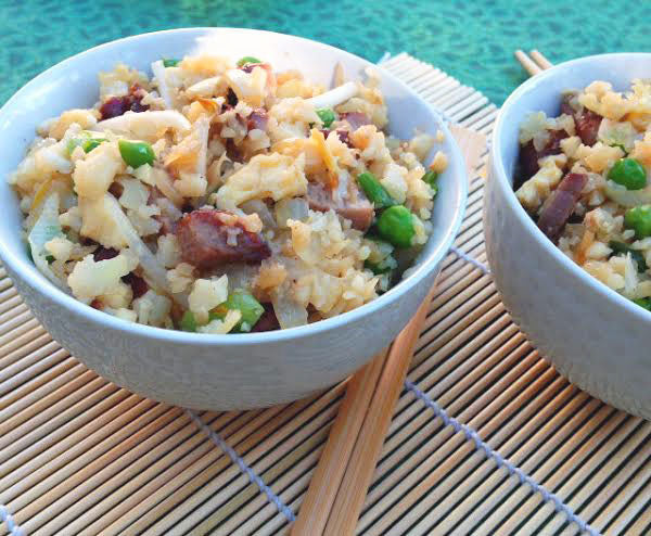 "Paleo Pork Fried ""Rice"""