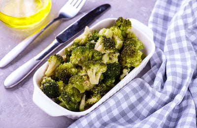 Roasted Broccoli with Lemon-Chile Sauce and Anchovy Crumbles