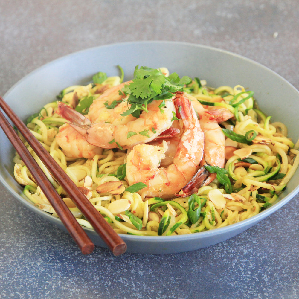 Shrimp Pad Thai Buddha Bowl