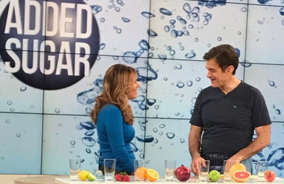 Sparkling Water and Teatoxing With Dr. Oz