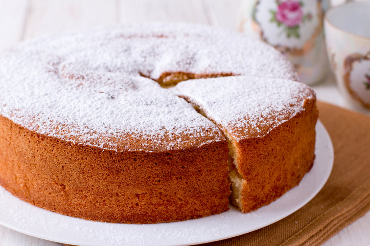 Paleo-Friendly Vanilla Cake