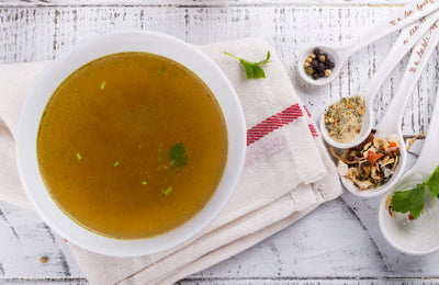 Vegetarian Potassium-Rich Broth