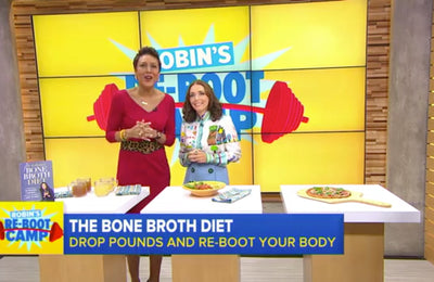 Dr. Kellyann and Robin Roberts Discuss The Bone Broth Diet on Good Morning America