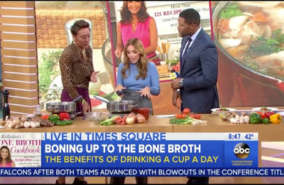 Dr. Kellyann Shares Recipes from Her New Bone Broth Diet Cookbook on Good Morning America