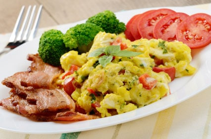 Broccoli Egg Scramble