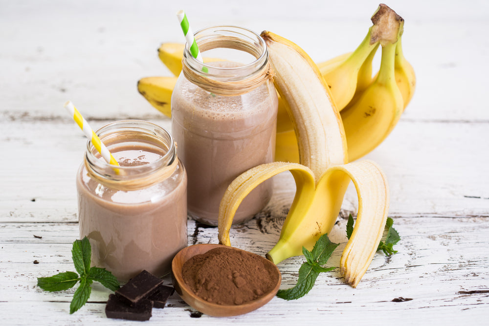 Chocolate Banana Walnut Shake