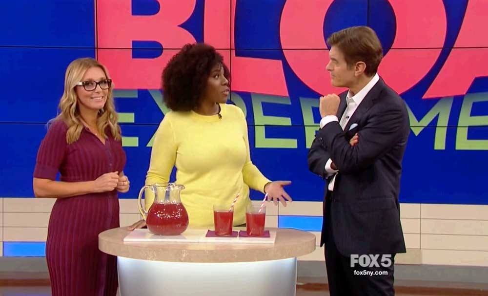 Busting Bloat with Dr. Oz - plus Cranberry Bloat Buster Recipe