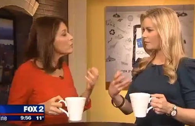 Dr. Kellyann Discussing Bone Broth with Detroit's Fox 2