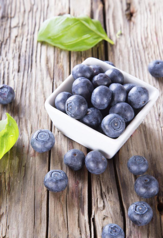 Leafy Greens and Blueberries: Keeping You Young and Happy
