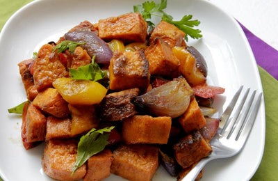 Primal Sweet Potato Salad with Aromatic Spices