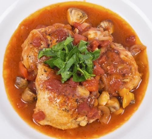 Bone Broth Chicken Cacciatore