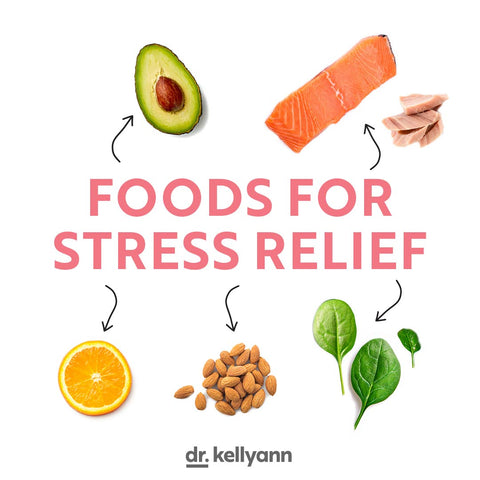 Foods that are best for stress relief