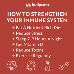 Tips on how to strengthen your immune system