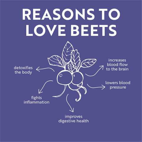 benefits of liver cleansing beets