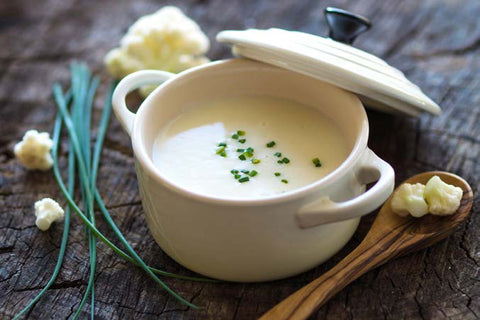 Cauliflower Vichyssoise Soup