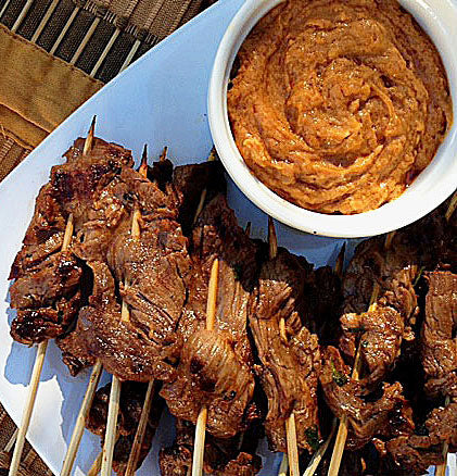 chicken-or-beef-satay