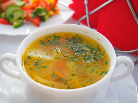 lemon chicken vegetable soup