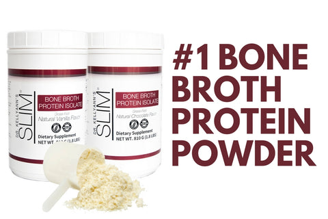 Vanilla Bone Broth Isolate Protein Powder
