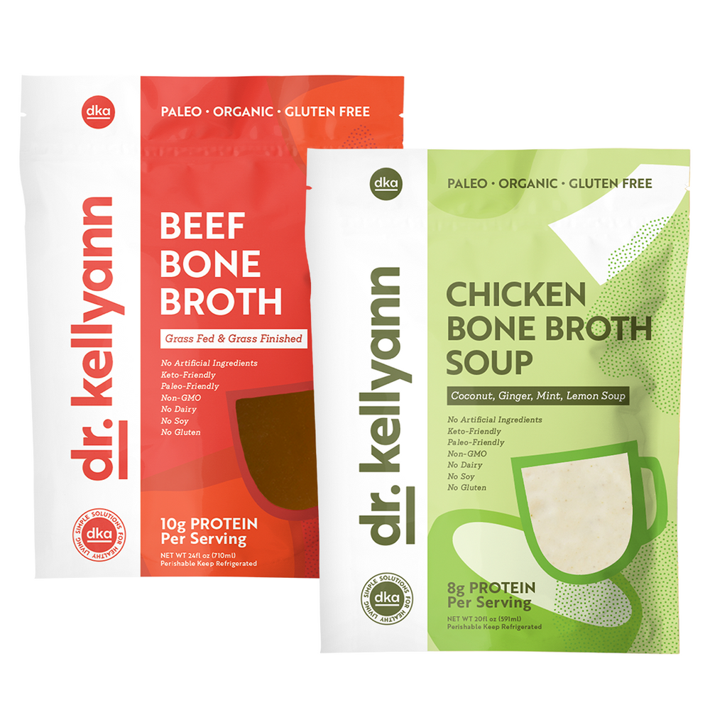 Beef and Chicken Bone Broth Soup Bundle