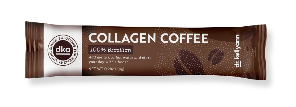 Collagen coffee single packet