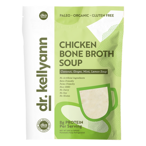 Coconut Ginger & Mint Chicken Bone Broth