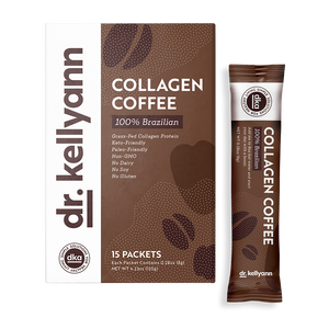 Collagen instant coffee packet