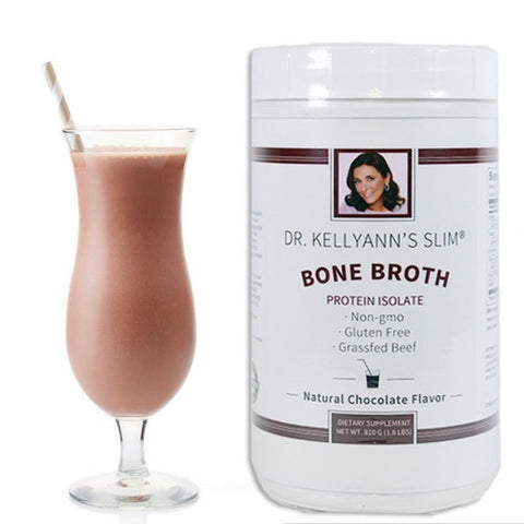 SYY - SLIM Bone Broth Protein Isolate, Chocolate