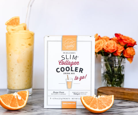 Special Offer! SLIM Collagen Cooler - Orange Cream