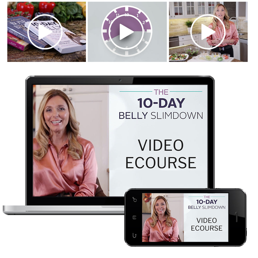 10-day video ecourse belly slimdown