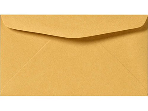 3 5/8 x 6 1/2 Envelope Brown