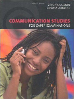 CAPE Communication Studies