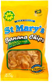 St. Mary's Banana Chips  (local) 71g