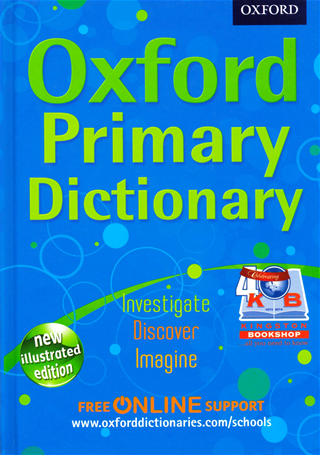 Kingston bookshop edition Oxford Primary Dictionary Hardback