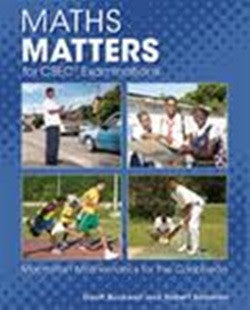 Maths Matters: for CSEC Examin