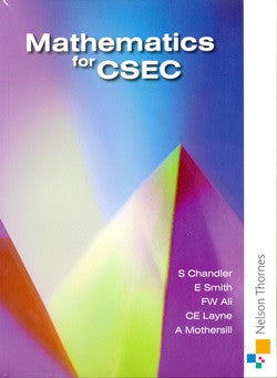 Maths for CSEC Nelson Thorne