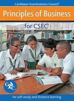 Principles of Business for CSEC Study Guide for Self-study