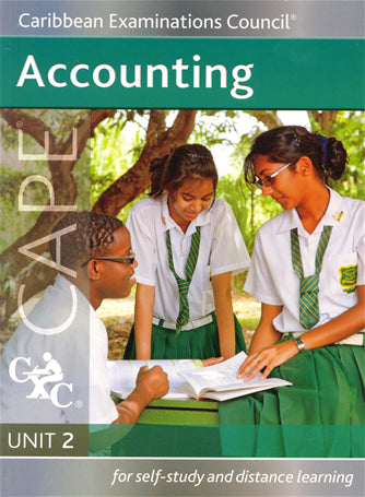 Accounting Unit 2 for CAPE Study Guide for Self-study