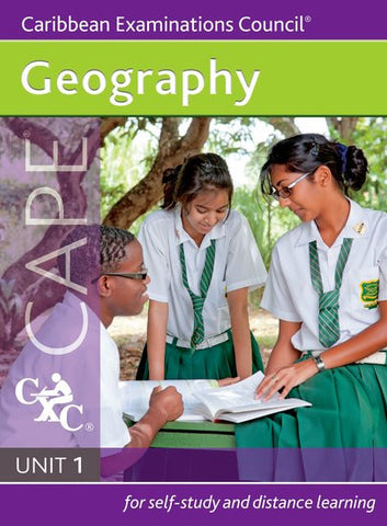 Geography Unit 1 for CAPE Study Guide for Self-study