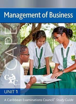 Management of Business Unit 1 for CAPE Study Guide